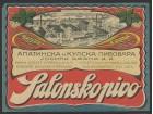 salonsko pivo apatin kula pivska etiketa oko 1930