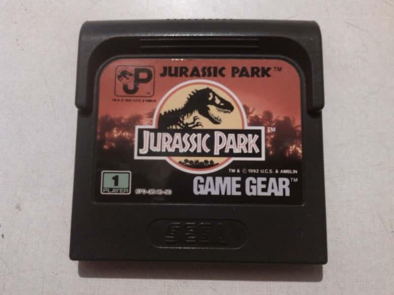 sega game gear igrica jurassic park ispravna ko sa slik