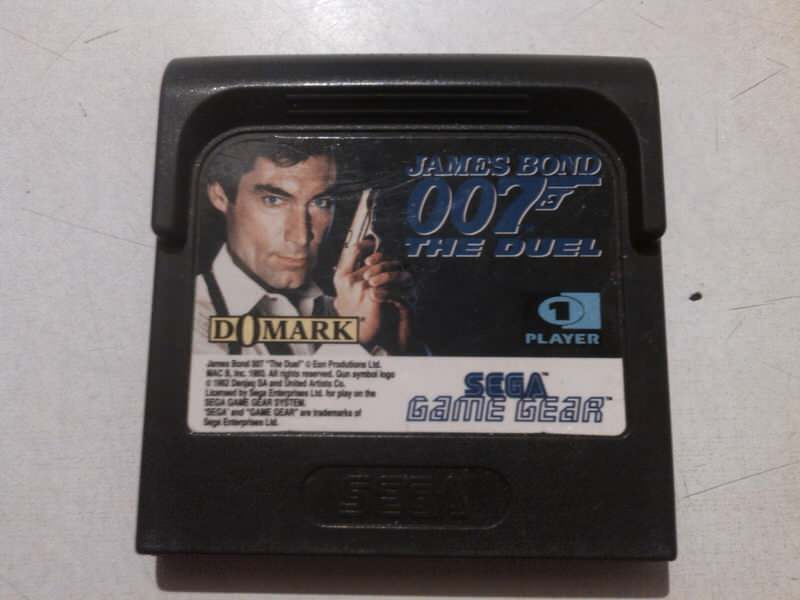 sega game gear igricajames bond 007 the duel  sa slike