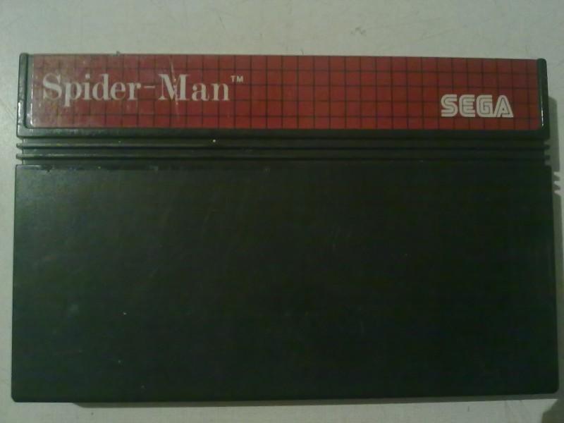 sega master sistem 1 i 2 spider-man ispravna sa slika