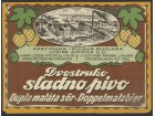 sladno pivo apatin kula pivska etiketa oko 1930