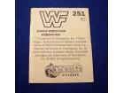 sličica WWF, Merlin, br 251
