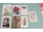stare rucno oslikane razglednice