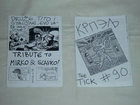 strip fanzin Krpelj, dva tanka, br 034 i 090
