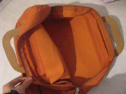 super narandžast poslovna torba za dokumente, laptop...
