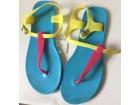 svetlo plave japanke sandale