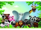 tapete životinja za dečiju sobu više vrsta