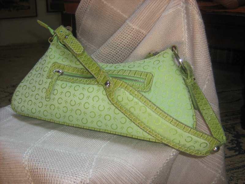 torba kozna/platno -CAVALIERI  -nova