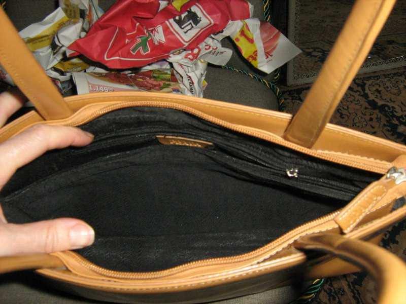 torba  kozna veca  -kao nova PRADA