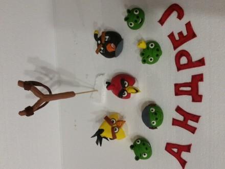 ukrasi za torte Angry birds
