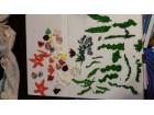ukrasi za torte Morski motivi, skoljke, trave, puzevi..
