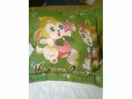 ukrasni jastuk za decu