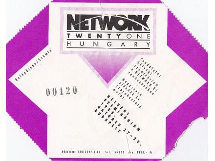 ulaznica za Network seminar