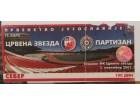 ulaznica za derbi Crvena Zvezda - Partizan 2001