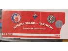 ulaznica za derbi Crvena Zvezda - Partizan