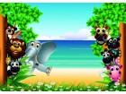 životinje tapete i posteri za dečiju sobu više vrsta